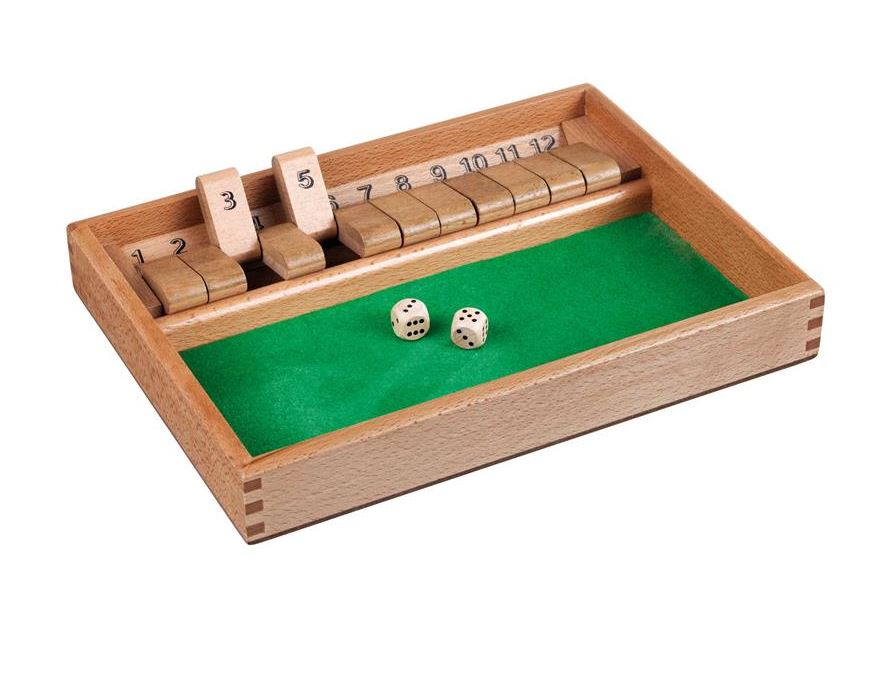 Igra Shut the box <br> 12 cifer