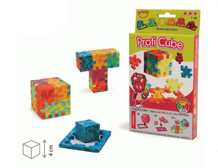 Happy Cube - Profi - 3D - 6 paket